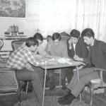 25 Aralık 1967 - Ay Doğarken'in ilk okuma provası